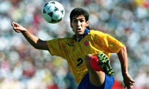 Andres Escobar was shot dead in 1994 before he could reach his peak