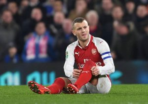 Jack Wilshire has been blighted by injury since emerging