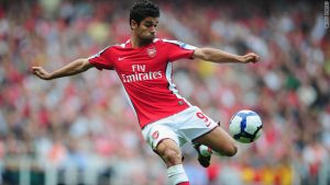 Eduardo was a star at Arsenal in 2007