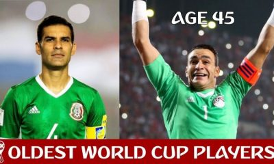 10 of the oldest players to feature in the FIFA World Cup