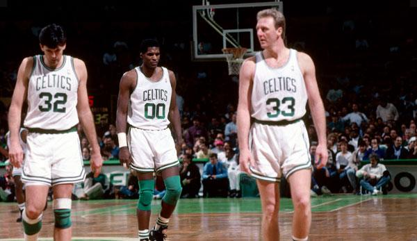 Larry Bird/Kevin McHale/Robert Parish