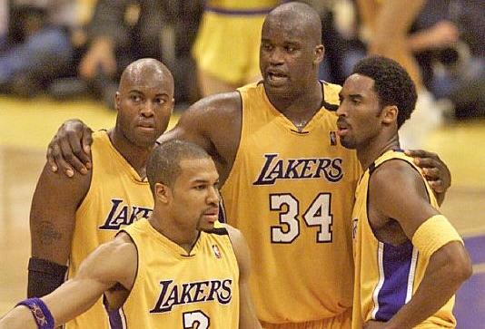 Kobe Bryant/Shaquille O'Neal/Derek Fisher