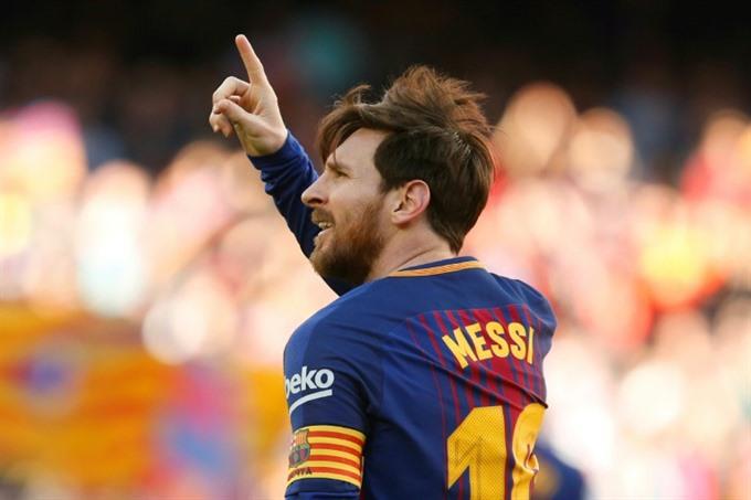 Lionel 'La Pulga' Messi