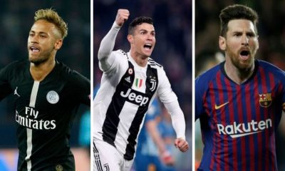 Top 10 highest paid footballers in the world