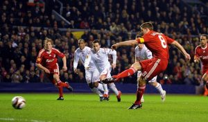 Penalty Takers Gerrard