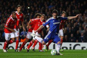 Lampard scoring penalty