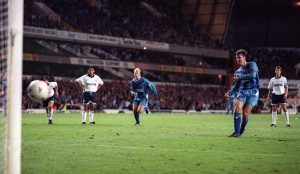 Penalty takers Le Tissier