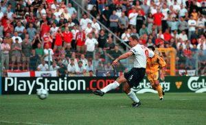 Penalty takers Shearer