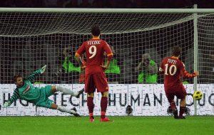 Penalty takers Totti