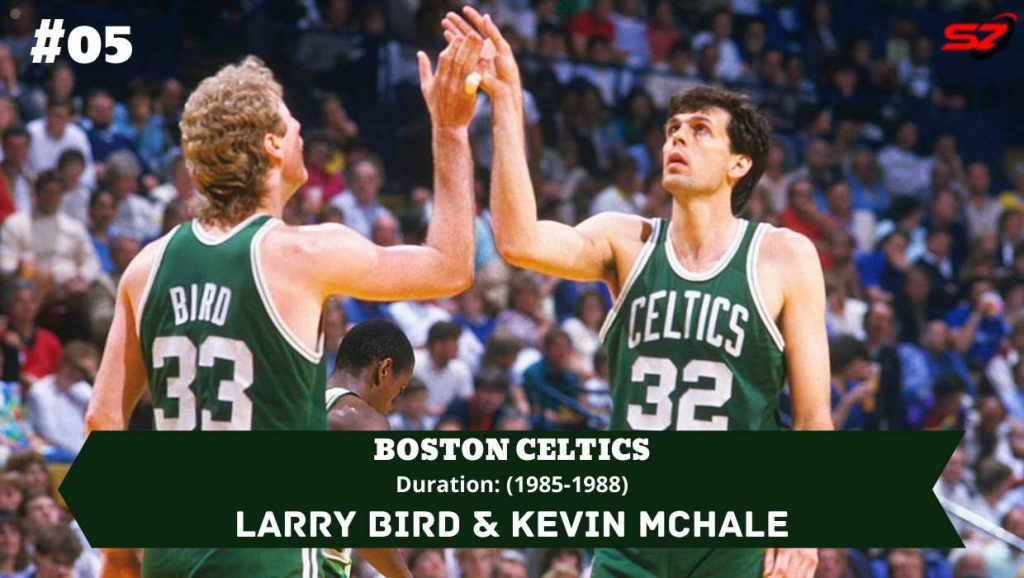 best duo ever Larry Bird and Kevin McHale