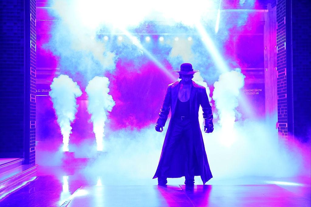 The Undertaker best entrance