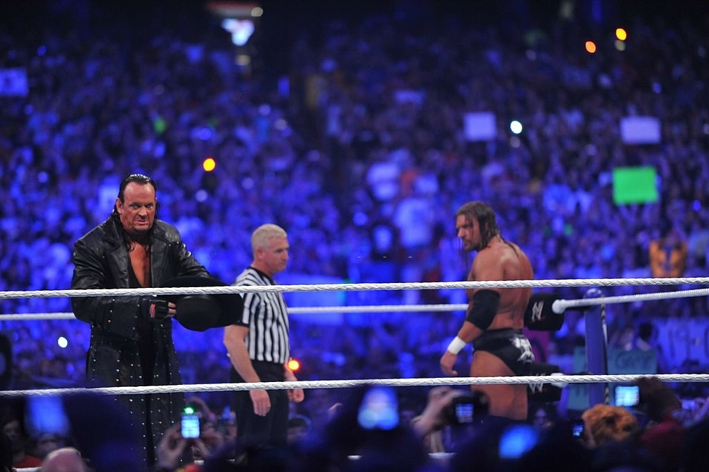 One of the best moments of The Undertaker vs Triple H