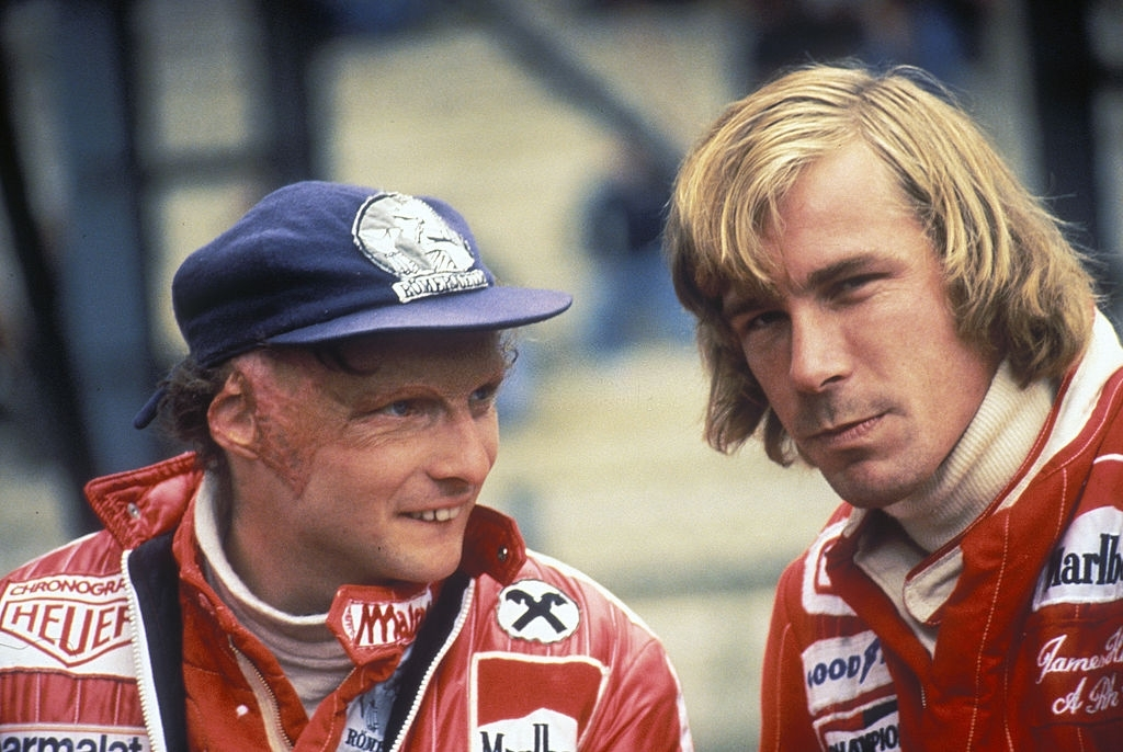 Hunt–Lauda rivalry of best F1 driver