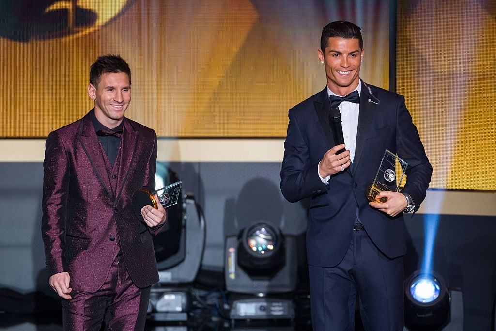 Who is better at soccer Messi or Ronaldo
