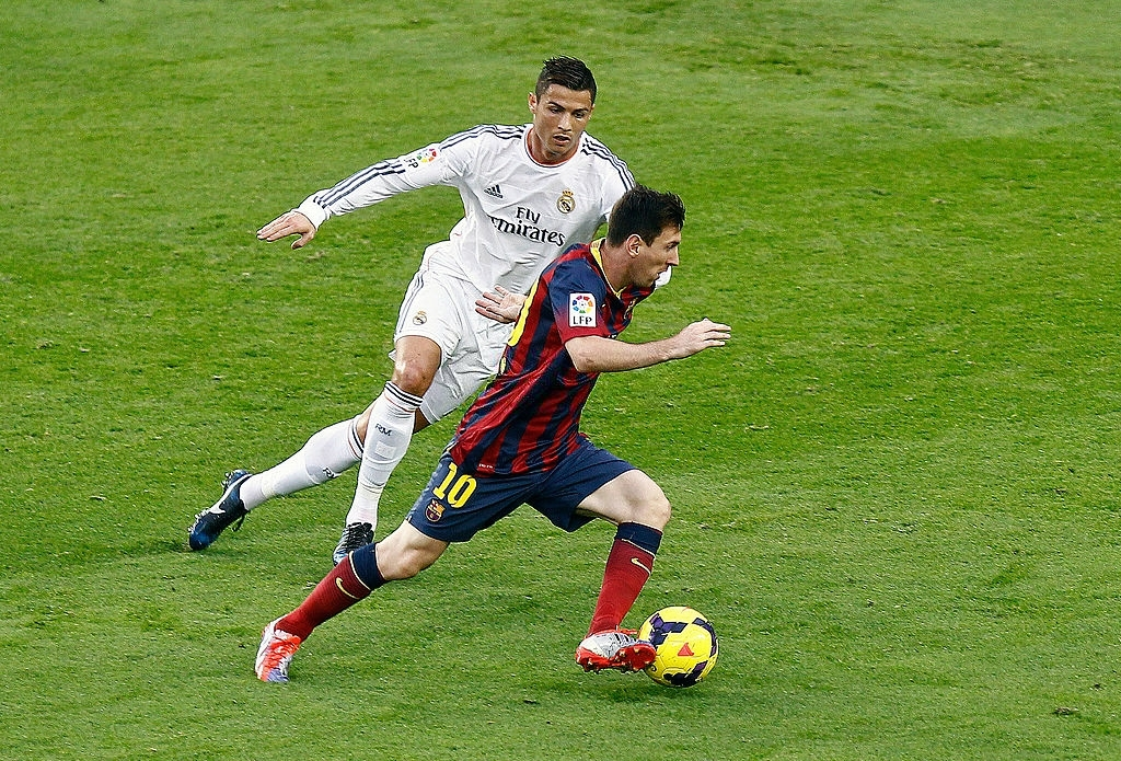 is Messi better than Ronaldo in goal scoring