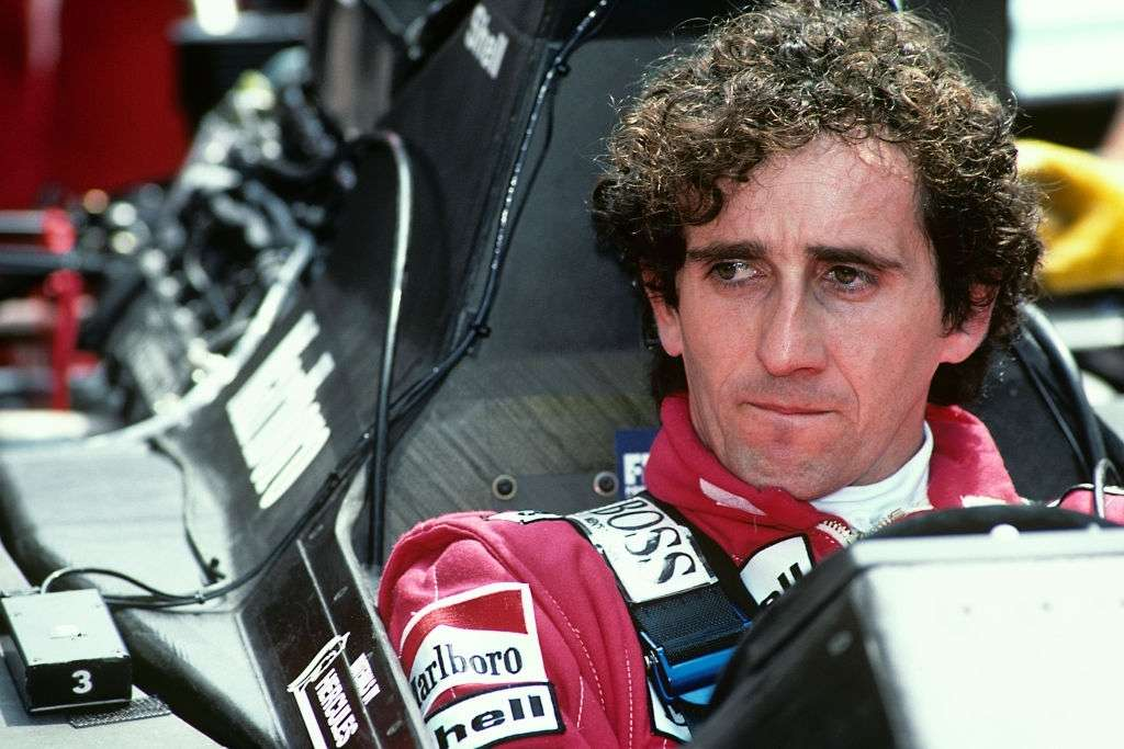best F1 driver of all time Alain Prost