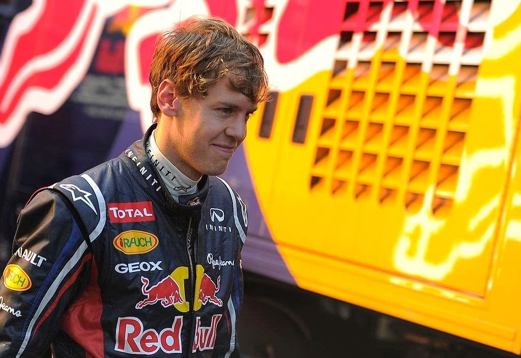 German best F1 racing driver Sebastian Vettel