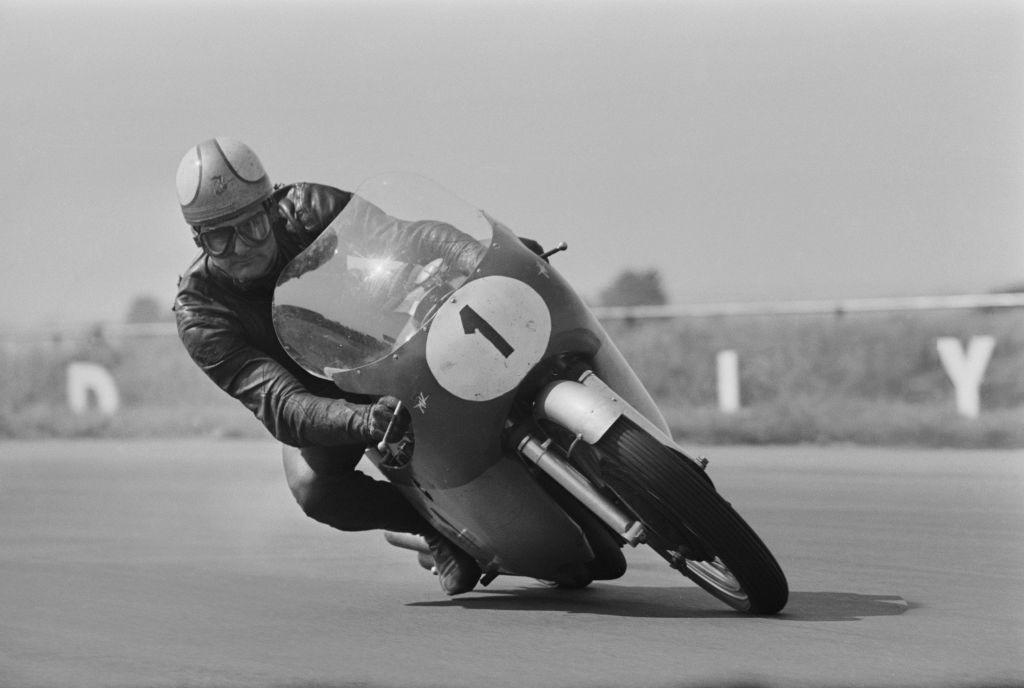 British MotoGP rider Mike Hailwood