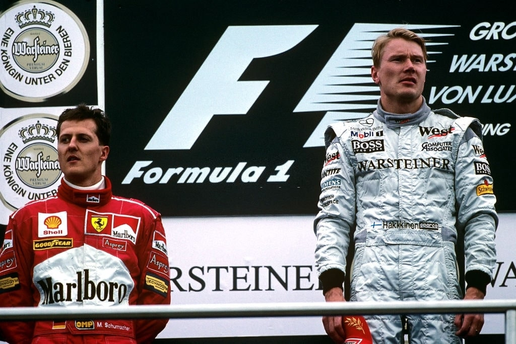 F1 title rivalries of all time