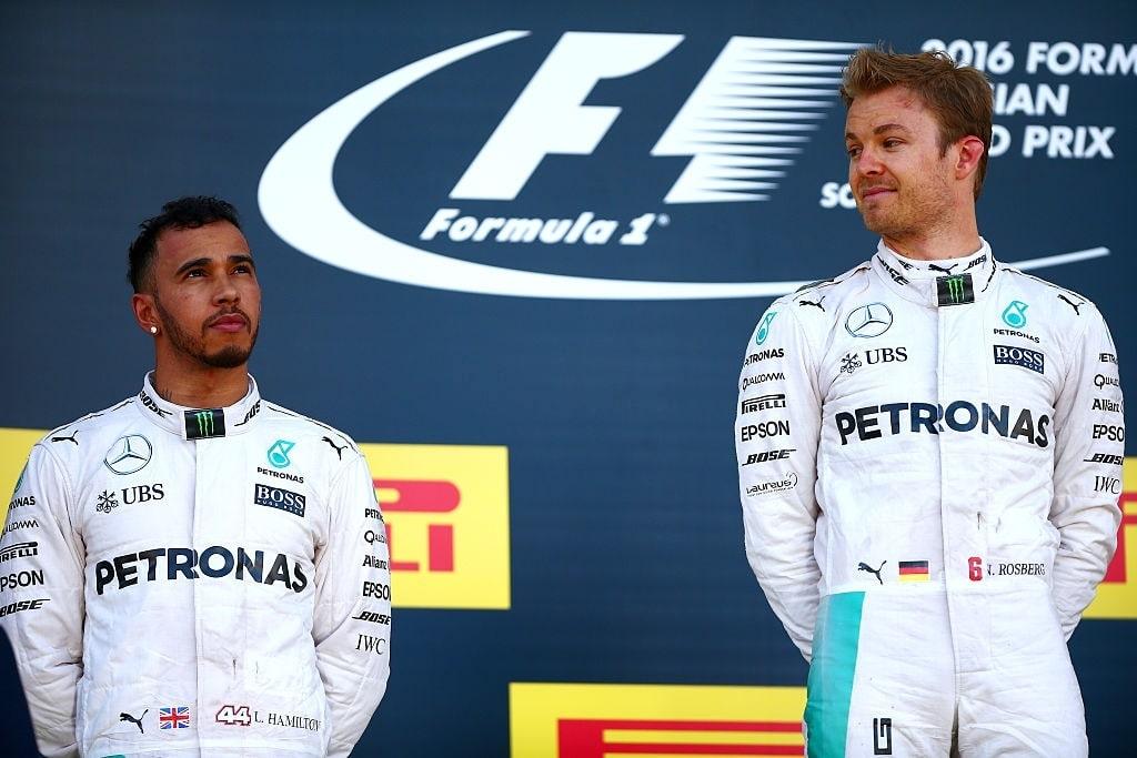 F1 title rivalries of all time - Hamilton vs Rosberg
