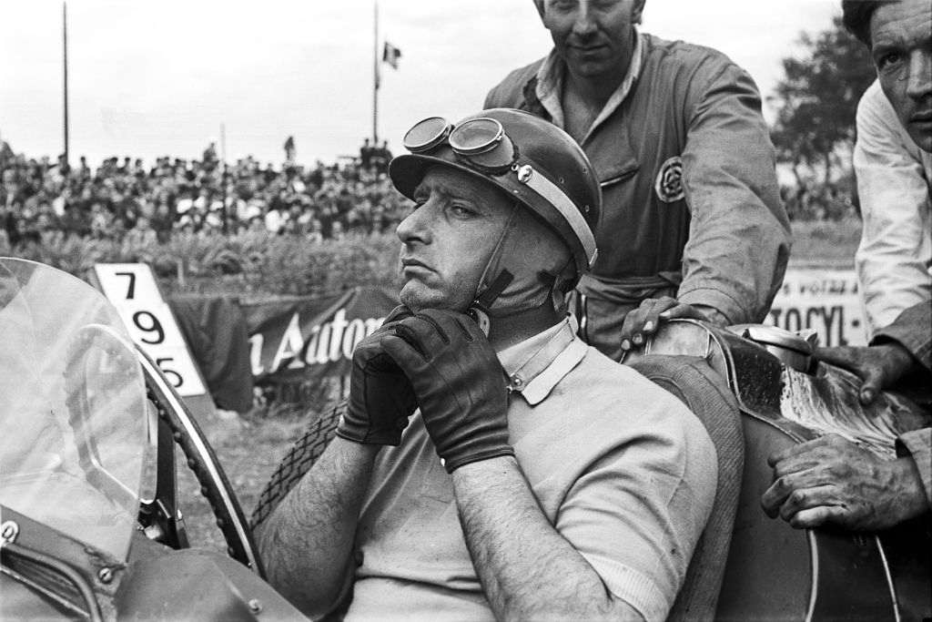 best F1 driver of all time Juan Manuel Fangio