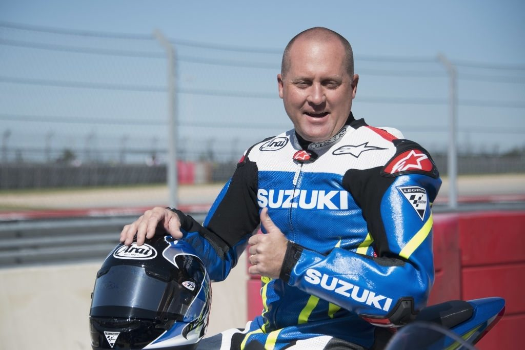 MotoGP racer Kenny Roberts