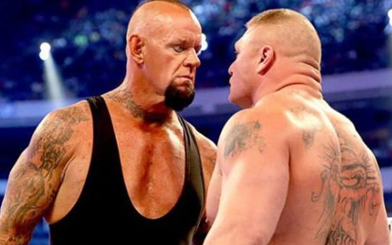 Greatest moment of The Undertaker vs Brock Lesnar