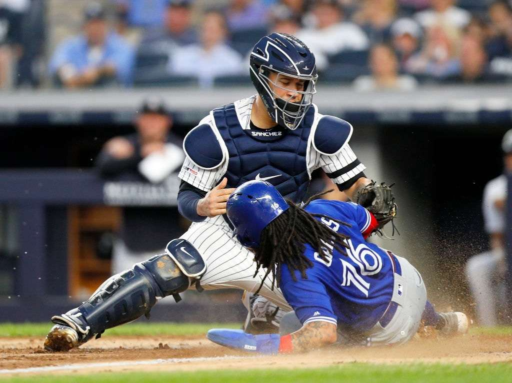 Gary Sanchez, one of the best catchers in MLB right now