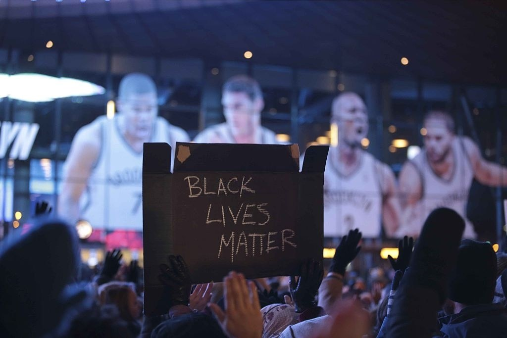 New Court Unveiled with 'Black Lives Matter' Logo