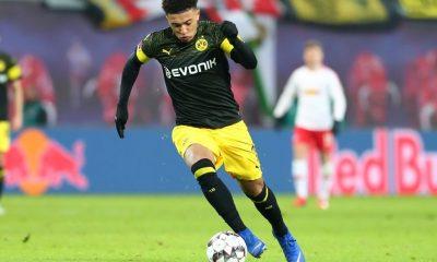 Jaden Sancho targeted by Man Utd