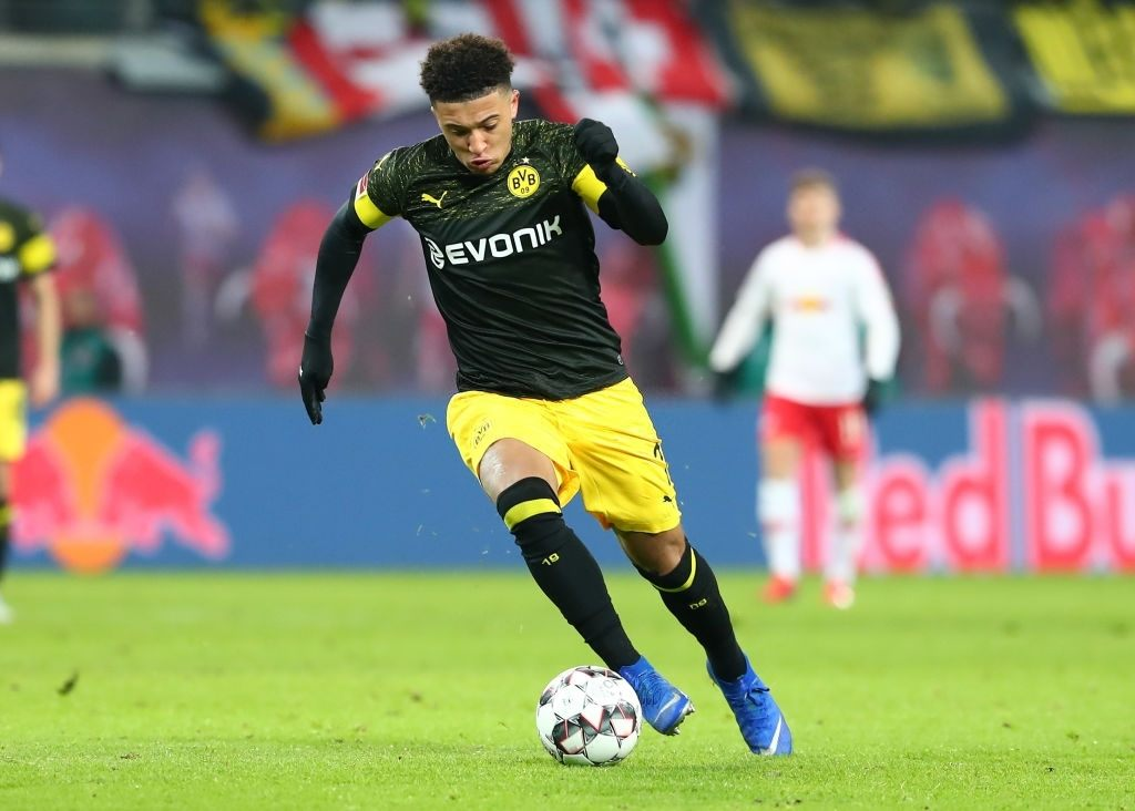 Jaden Sancho targeted by Man Utd
