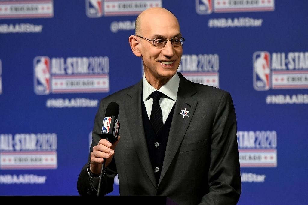 Adam silver on kneeling down