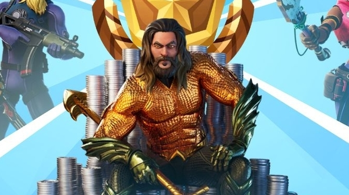Aquaman In Fortnite