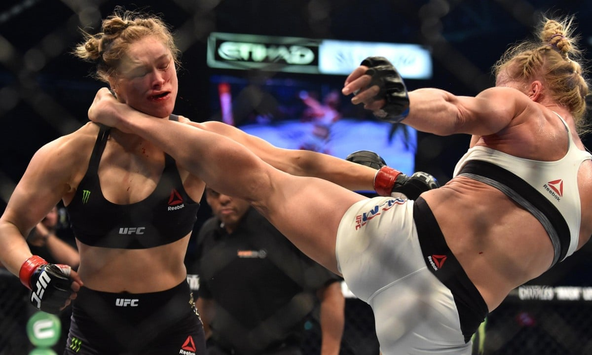 Rhousey Vs Holm Best Hyped UFC FIghts