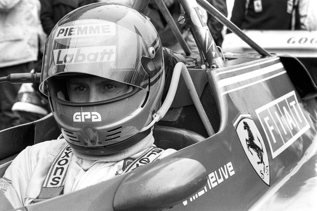 Gilles Villeneuve F1 Death Crash