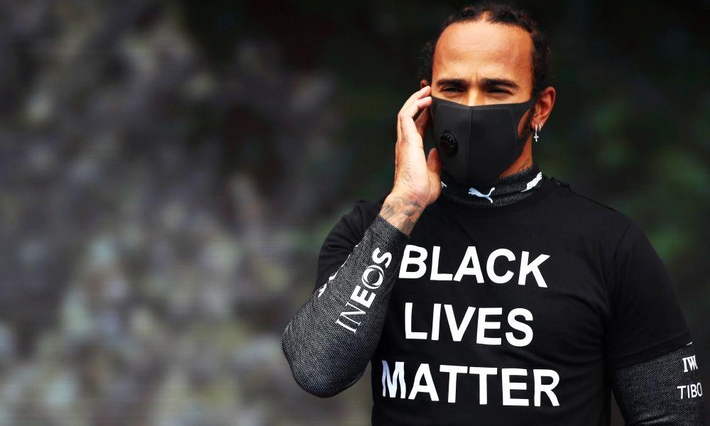 Lewis Hamilton Black lives matter
