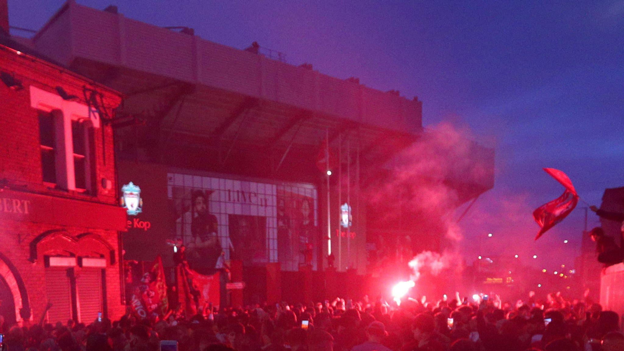 9 Arrested at Anfield Park Celebrations