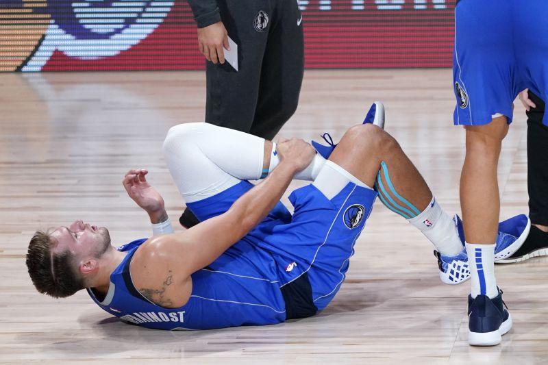 Luka Doncic ankle injury