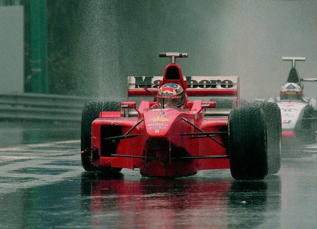 most dramatic F1 race in 1998 Belgian Grand Prix, Spa