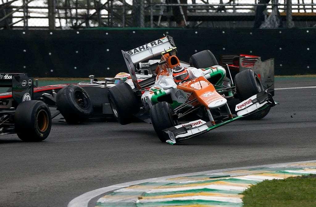 dramatic F1 finishes in 2012 Brazilian Grand Prix