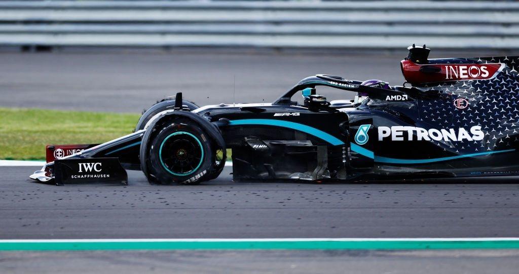 dramatic F1 races
