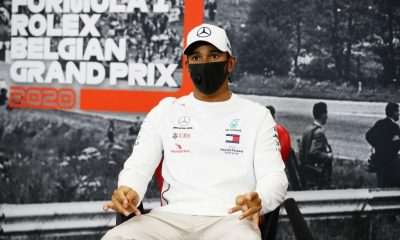 Hamilton doesn't plan to withdraw from races.