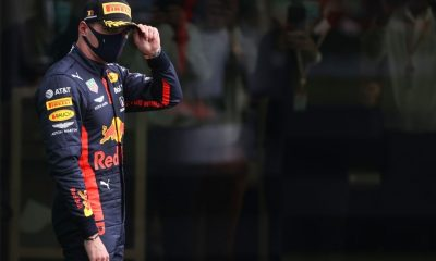 Verstappen claims to haven't enjoyed the race