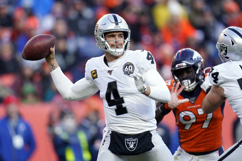 Derek Carr is concentrating more on 2020 NFL season to prove himself
