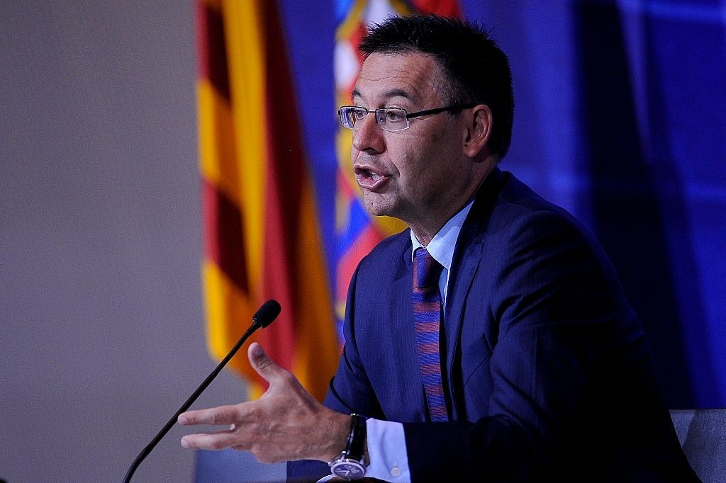 Bartomeu has fallen out with Messi
