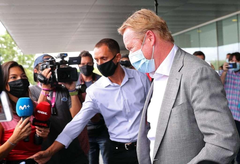 Ronald Koeman's arrival in FC Barcelona
