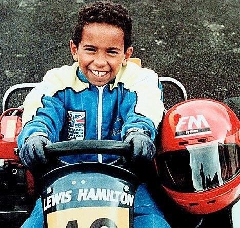 Lewis Hamilton early life