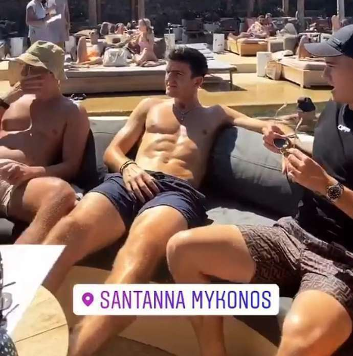 Harry Maguire Shirtless