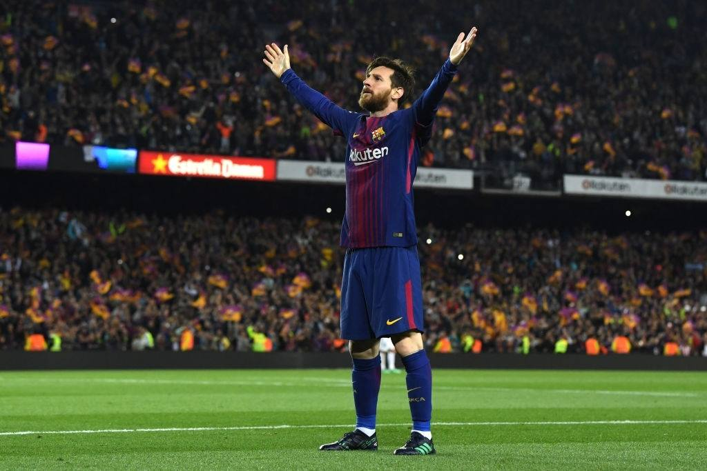 Messi is one of the greatest players in history