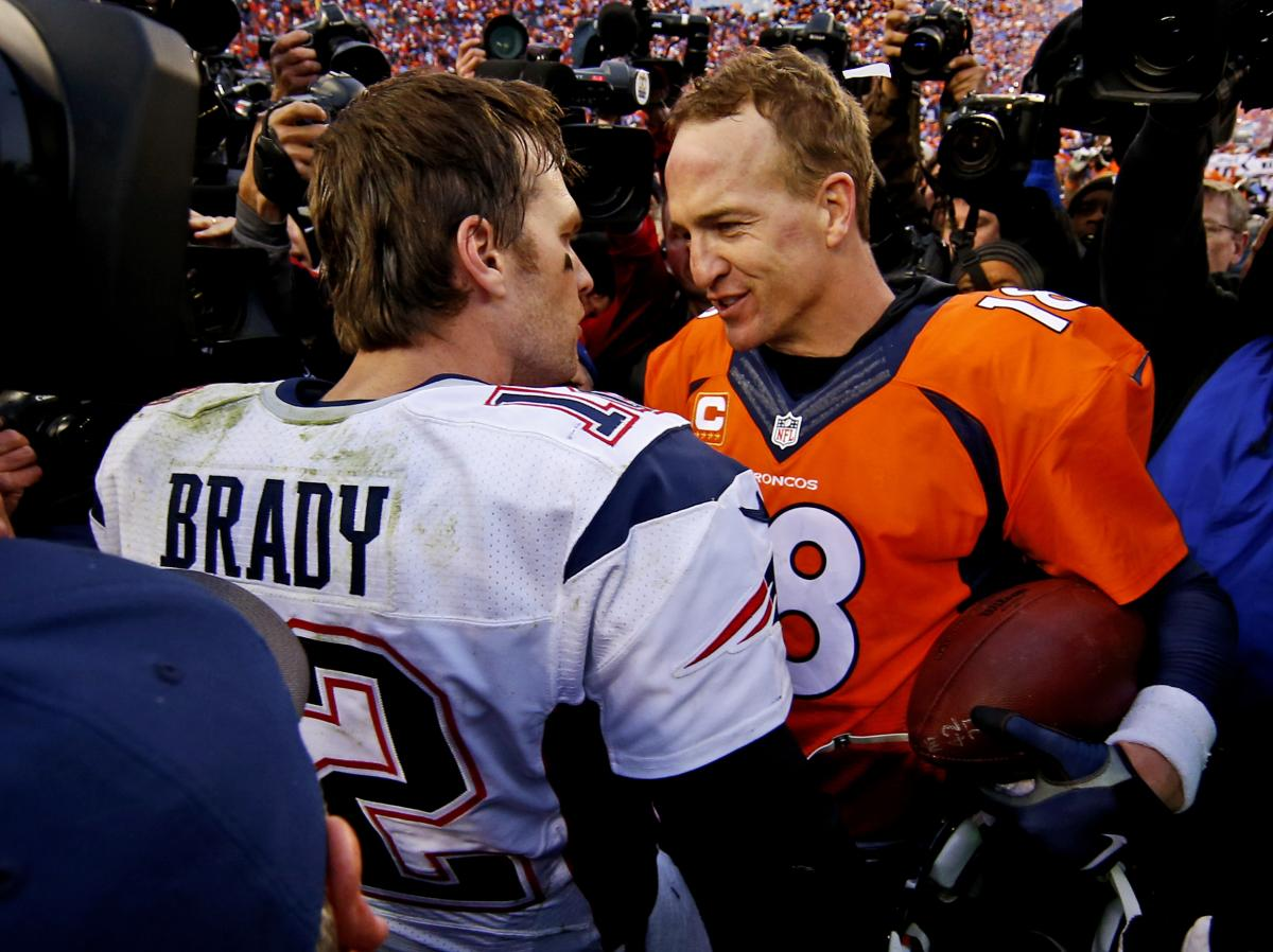 Tom Brady vs Peyton Manning
